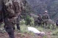 Según las denuncias de la comunidad, el campesino sí fue asesinado por el Ejército.