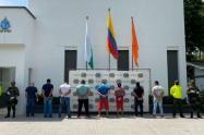 Otros seis presuntos integrantes de la banda criminal serán judicializados por ataques a la Fuerza Pública.