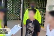 En Bello sorprenden a dos menores de 17 años cuando exigían $12 millones