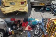 Accidente en Robledo, Medellín