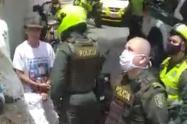 Motociclista que violó la cuarentena provocó una asonada en Medellín