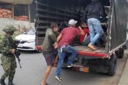 Las autoridades rechazaron la conducta de los extranjeros, quienes son atendidos con ayudas humanitarias de la Alcaldía.