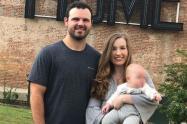 Blake Bivens y su esposa