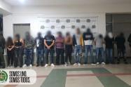 Capturados en Medellín en medio de una fiesta