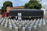 Cayó cargamento de cigarrillos de contrabando del Uruguay en Itagüí
