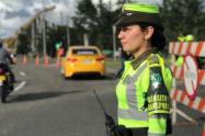 75 conductores que pretendían salir de paseo en el puente festivo fueron sancionados en Antioquia