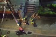 Con más de 300 policías recapturan a ocho internos fugados de la estación de policía en Copacabana, Antioquia