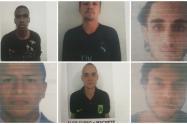 Los detenidos fueron asegurados en la cárcel.