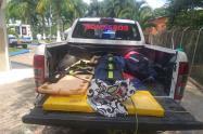 Minero rescatado en Remedios, Antioquia