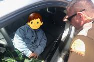 Sorprenden a un niño de cinco años conduciendo una camioneta en EE.UU.