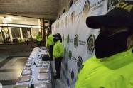 Les quitaron a los combos de Medellín 240 kilos de droga