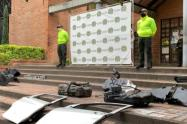 Finca del corregimiento de Santa Elena era un desguazadero de vehículos hurtados