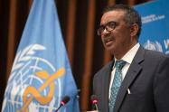 Tedros Adhanom, director general de la OMS