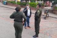 Con mayor presencia de la Fuerza Pública fortalecerán controles en el Centro.