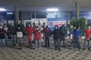 Sorprenden a doce venezolanos con varias dosis de alucinógenos en Rionegro, Antioquia