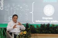 Álvaro Guillermo Rendón López, gerente general de EPM