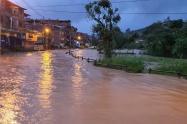 Inundaciones en Donmatías, Antioquia.
