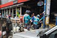 Una persona muerta y tres más heridas dejó accidente de tránsito en el barrio Buenos Aires de Medellín