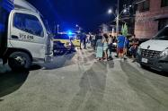 Homicidio de taxista en Bello, Antioquia.