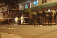 Lo mataron en presencia de sus amigos en el barrio Pedregal de Medellín