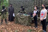 La misión humanitaria se realizó en el Bajo Cauca antioqueño.