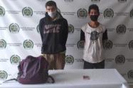 El capturado horas antes había hurtado en compañía de otra persona, las pertenencias a un mujer en Itagüí.