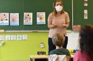 Regreso de niños a los colegios / Coronavirus