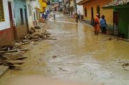 Por deslizamientos, 70 municipios están en riesgo.