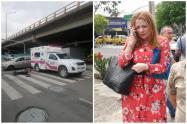 El conductor también afronta cargos porque atropelló a un adulto mayor y le causó graves heridas.
