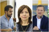 De esta terna saldrá el nuevo gobernador (e) de Antioquia