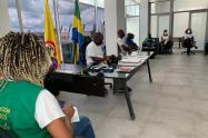 Reunión adelantada en la Gobernación de Chocó sobre el caso de Milciades Rodríguez