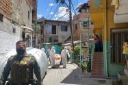 Una mujer y su sobrino mueren en medio de una rumba en Medellín