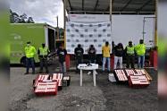Este grupo se dedicaba al hurto de mercancía de camiones en las vías del departamento