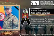 El Ejército repudió el homicidio del soldado de 22 años.