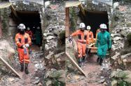 Accidente en mina de Segovia, Antioquia