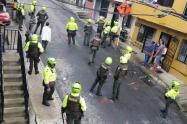 En batalla campal terminó rumba en el barrio Villatina de Medellín