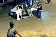 En Castilla asesinan a bala al ocupante de un vehículo