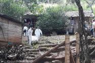 Mataron a un agricultor en una escuela de Cocorná, Antioquia