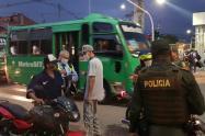 Controles ley seca en Medellín