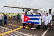 Misión de médicos cubanos