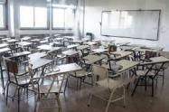 Las autoridades pidieron a los padres que matriculen nuevamente a sus hijos.