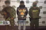 Alias el Peruano tenía detención domiciliaria en el momento de la captura.