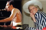 Freddie Mercury y Lady Di