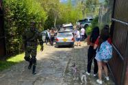 """""""Enrumbaos"""" cogieron a 36 personas en finca de Girardota, Antioquia"""