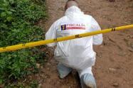 """Con un letrero que dice: """"por ratas"""", asesinan a dos presuntos ladrones en Itagüí, Antioquia"""