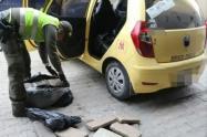 En otro procedimiento capturan a un taxista con 55 libras de este estupefaciente.