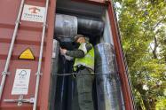 Incautan mercancía de contrabando valorada en $290 millones en Medellín
