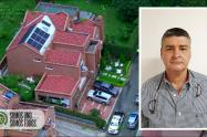 """La lujosa casa que vivía alias """"el Piloto"""" en el barrio El Poblado de Medellín"""