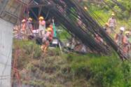 Son los dos trabajadores muertos y tres heridos, en el accidente en Vías del Nus, en Antioquia