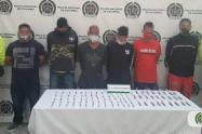 Capturan a seis hombres y aprenden a cuatro menores del combo el limonar de Medellín